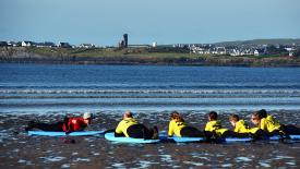 Learning to Surf in Lahinch