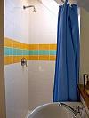 Aparte douche op de bovenverdieping