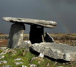 Poulnabrone Dolmen The Burren